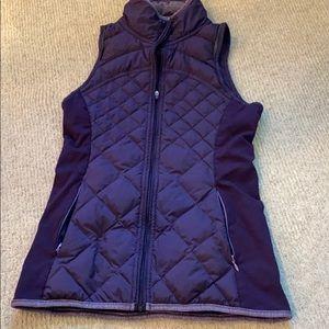 Lululemon puffy running vest